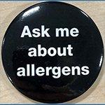 Allergens badge