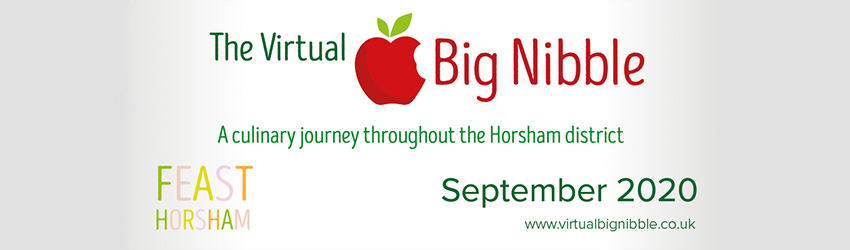 The Virtual Big Nibble banner graphic