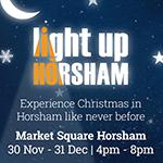 Light up Horsham poster