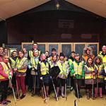 Youth Club litter pick in Ashington