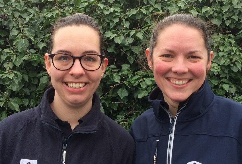 Ashington wardens Bryony (left) and Christina (right)
