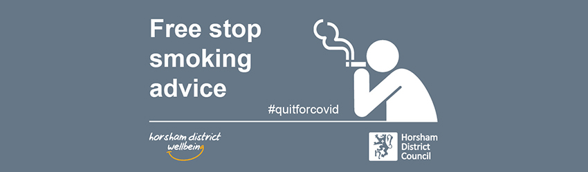 Health and Wellbeing Stop Smoking graphic