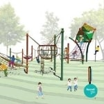 Exciting new play area for Horsham Park