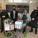 Storrington Neighbourhood Wardens with Waitrose staff