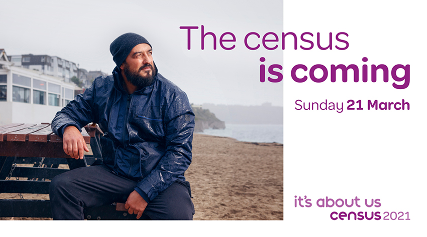 The census is coming, Sunday 21 March 2021