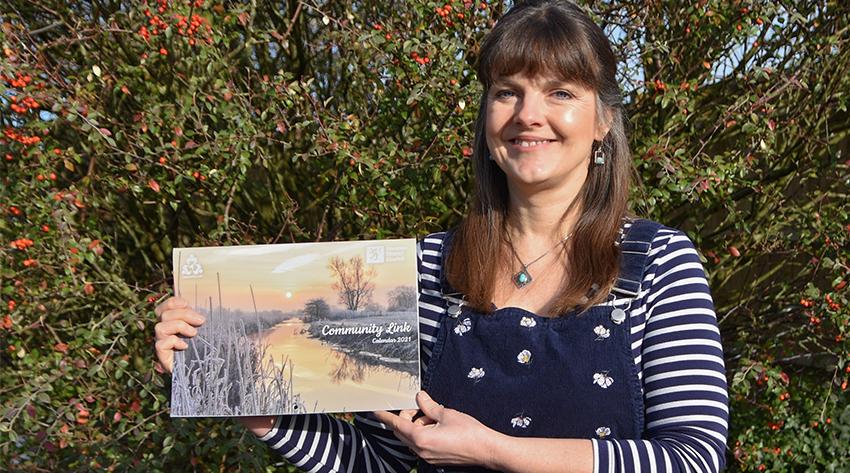 Emma Varley, winner of the 2021 Community Link calendar competition
