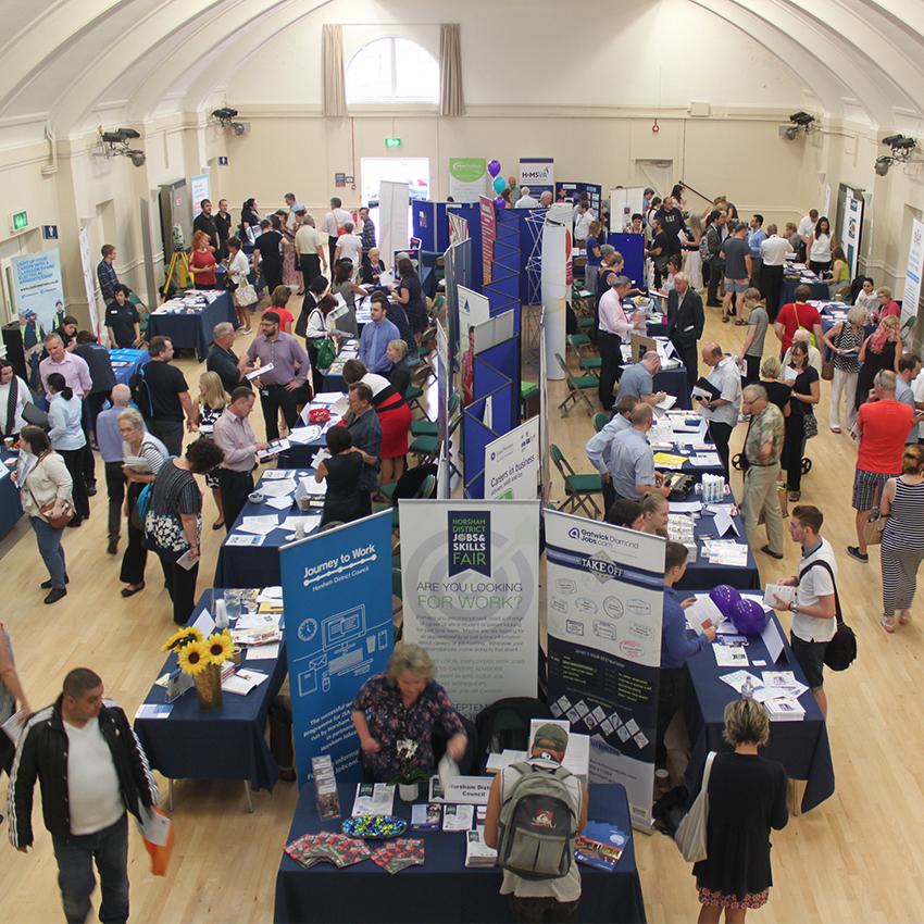 Horsham District Jobs and Skills Fair 2019