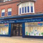 Pop Up Horsham shop exterior on West Street Horsham
