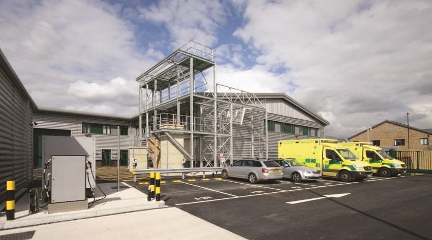 South East Coast Ambulance Service centre