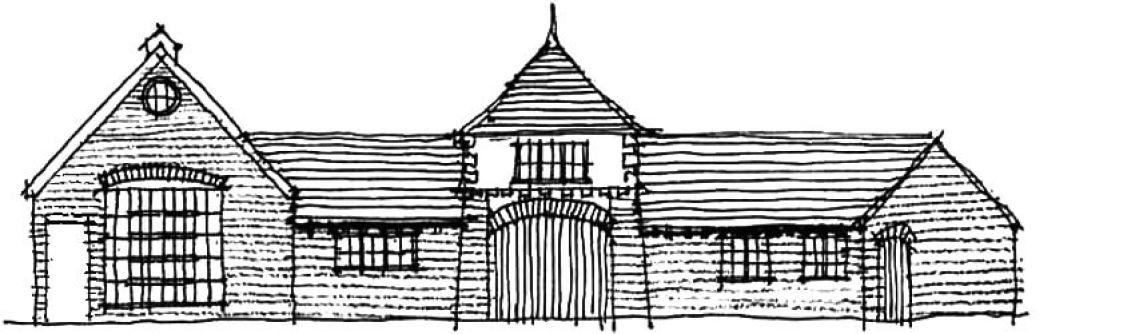 Rural building conversion example