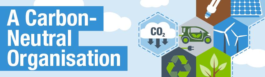 A carbon-neutral organisation