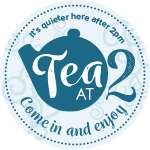 Tea at Two sticker