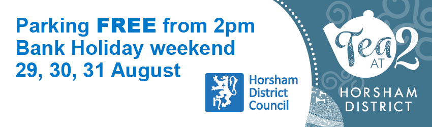 Free Bank Holiday Weekend Parking graphic