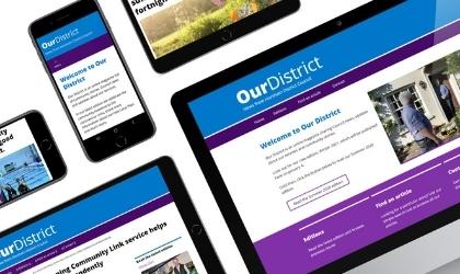 Read Our District magazine online