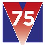 VE 75 logo