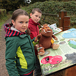 Junior detectives tackle the trail
