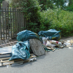 Illegal fly-tipping