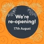 Leisure centres reopening Monday 17 August