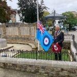 HDC Chairman Cllr David Skipp led the wreath laying at Horsham's War Memorial