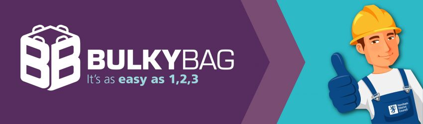 Ordering a Bulky Bag is as easy as 1,2,3
