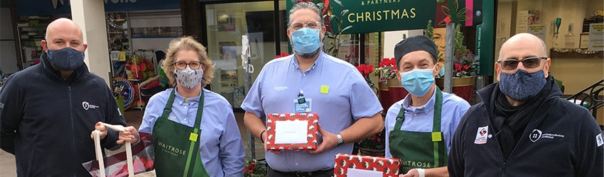 HDC wardens take delivery of gifts for Storrington volunteers