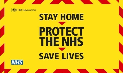 Stay home, protect the NHS and save lives