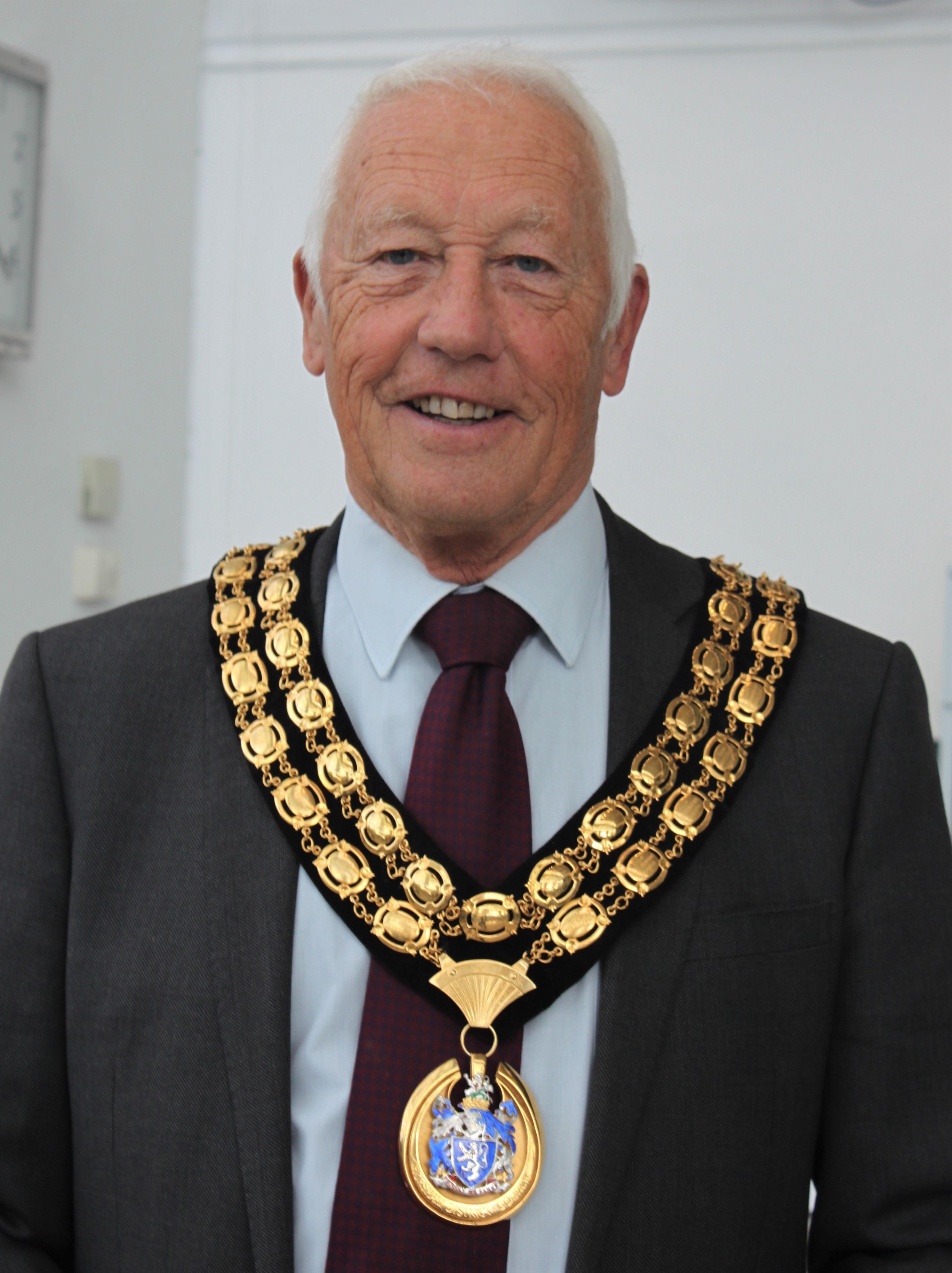 Newly elected Horsham District Council Chairman Cllr David Skipp 26 May