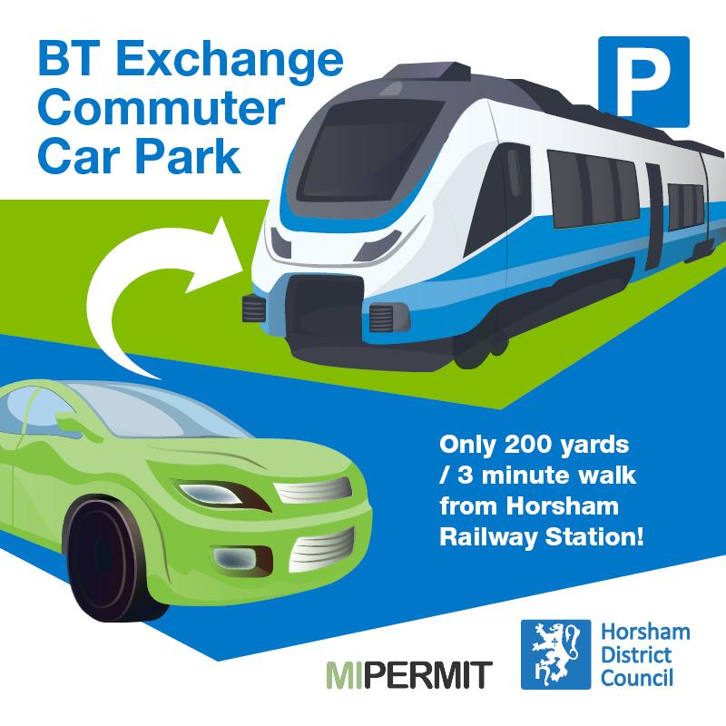 BT Exchange commuter car park