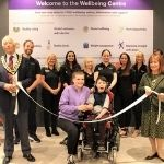 The opening of the new Wellbeing centre