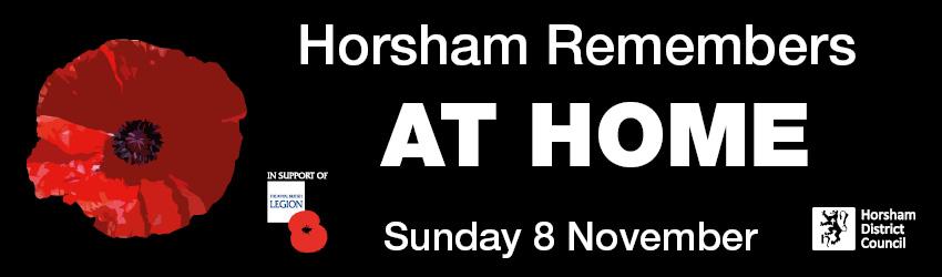 Horsham Remembers at Home