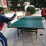 Community table tennis in the forum