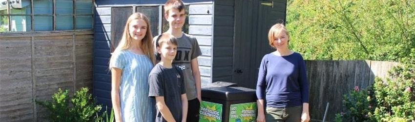 The Coakley family, Horsham